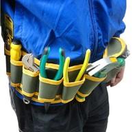 Canvas tool bag / Multifunction / Waist Bag / water resistant / electrical maintenance purse / bag