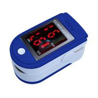 CONTEC CMS50DL Color LED Display Blue Fingertip Pulse Oximeter SPO2 Monitor For Home Health Care Measurement