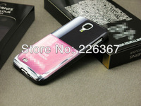 Free Shipping Luxury LE VERNIS lipstick Nail Colour Silicon TPU Case for Samsung Galaxy S4 i9500 cover with retail Box