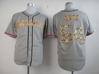 New San Francisco Giants 54# sergio romo Grey Camo 2013 USMC Baseball Jerseys Cool Base Embroidery logos Free Shipping