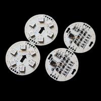 50 PC 50mm WS2811 LED pixel module Full Color 6LEDs 5050 DC PCB Board 12V D38-6