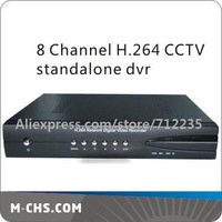 8 channel H.264 Full D1 CCTV network video recorder