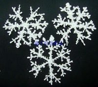 Christmas tree decoration 22cm snowflakes snow powder decoration supplies