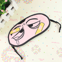Min order 15$ Fashion goggles cartoon blindages dodechedron sleeping eye mask