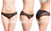 2013 fashion women's sexy underwear bamboo fiber Panties briefs with lace lingerie with Drop shipping free shipping