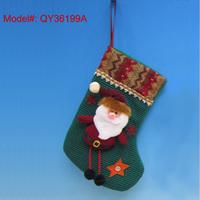 "11"" Christmas Socks Santa Stocking Christmas Gifts Stockings Xmas Decorations Ornaments"