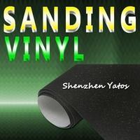Black Glitter Car Color Change Decoration Foil Sanding Vinyl