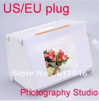 "Hot! Free Shipping  Professional Portable  12""x8"" SANOTO Mini Kit Photo Photography Studio Light Box Softbox MK30"