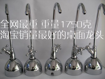 Water purifier coffee table desktop countertop 2 goose neck faucet