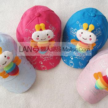Baby spring and summer hat male female child sunbonnet child baseball cap beret 147