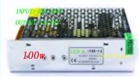 Free shipping  100W  power strip transformer/led driver,Input:AC90~264V/Output:12v/24v