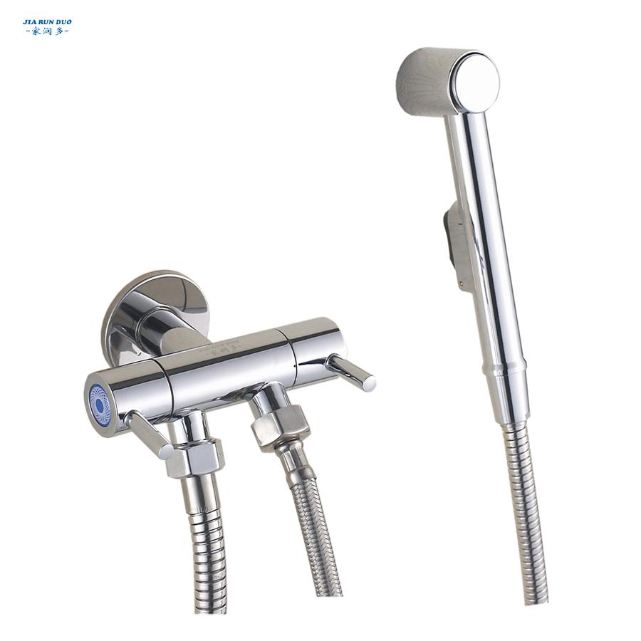 Kupfer toilette bidet spray gun klein duschkopf zwei- Website eckventil bidet-armatur