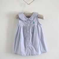 Fresh 2013 summer children's clothing female child summer 100% cotton cloth one-piece dress baby princess dress