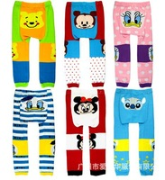 Free shipping 2013 autumn new Cute fashon toddler girl boy baby Busha PP Pants Leggings Tights size:80/90/95 wholesale