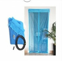 Stripe magnetic soft screen door 96cm mosquito curtain