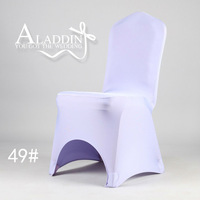 FREE SHIPPING ! HOT SALE sweet lavender universal polyester banquet chair covers/Lycra Chair Cover with Arch for Wedding