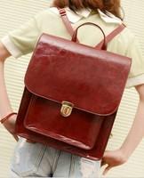 2013 Women's handbag vintage lock backpack handbag one shoulder women's bags