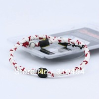 Oakland Athletics Classic Frozen Rope Baseball Seam Leather Necklace