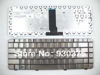 New Bronze Metallic  Notebook  Keyboard for HP Pavilion DV3000 DV3500 Series Russian RU Layout