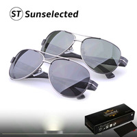 Free dropshipping Classic Men's Aviator Sunglasses Polarized lens Sports Glasses Eyewear Fishing PR22