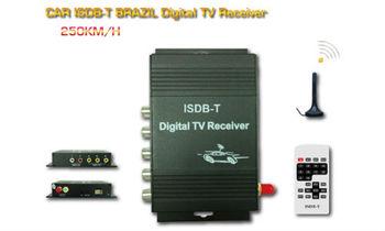 HD car ISDB-T Brazil Digital TV tuner receiver, TV tuner,Car ISDB-T,HD ISDB-T with 12monthes warranty