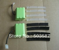 Combo set of 7.2V 3.8Ah battery+4pcs blades+4pcs brush bars for Neato XV-21 Vacuum Cleaner Robotics! Free shipping!