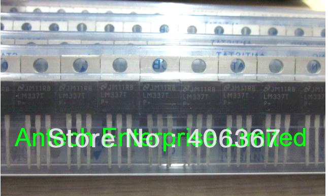 20PCS LM337 LM337T Adjustable Output, Negative Voltage Regulator, new parts(China (Mainland))