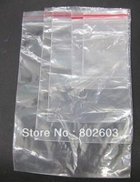 1000Pcs Self Sealing Zip Lock Plastic Bags PP bag 8*12  cm/packaging bags Free Shipping