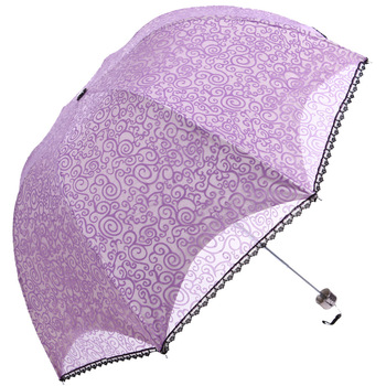 Umbrellas Ramona 2013 double layer princess  flock printing yarn elargol super anti-uv structurein , apollo   umbrella