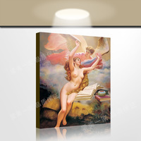 Figure oil painting wings of the human body home decoration painting quality