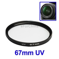 Free Shipping 67mm UV lens Filter for DSLR lenses digital still video DVD camcorders