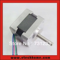 Free Shipping! 4-lead Frame 35mm NEMA 14 Stepper Motor with 12N.cm Length 28mm 1.8 degree CE ROHS CNC Stepping Motor