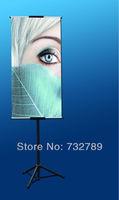 Hotsale! Iron adjustable display stand,outdoor display equipment advertising racks BST6-2