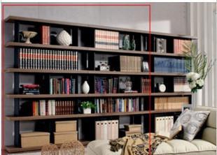 Large capacity bookshelf bookcase newspaper and magazine racks display rack bookcase storage cabinet display cabinet