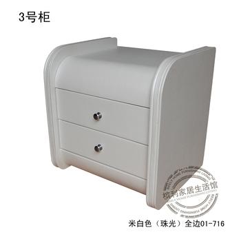 White bedside cabinet leather bedside cabinet chromophous bedside cabinet black bedside cabinet customize bedsprings