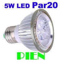 Par20 5W 6W LED lighting Spot Ceiling wall lamp E27|GU10 Supermarket Hotel decorating led bulbs 110V 220V Free Shipping 2pcs/lot