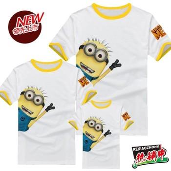 Milk child clothes 2 t-shirt small capsules t-shirt short-sleeve family fashion