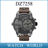 HK post free shipping  DZ 7258 fashion men's movement watches DZ7258 sport watch Wristwatches+original box