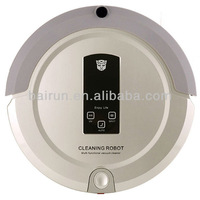 Robot Vacuum Cleaner 2013 With Good Quality Battery, Virtual Wall, LCD Touch Screen, UV Lamp Sterilizer