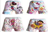 Free shipping for 12pcs/lots EK52 Boxers  Men's clothing underwears Lycra cotton cartoon children underwear