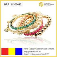 Min order $15 ( mix order )  free shipping wholesale new luxury multi-layers popular bracelet
