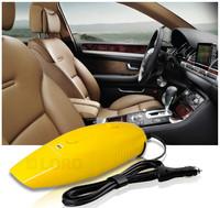 Handheld Powerful Auto Dry Vacuum Cleaner 12v 75w Yellow