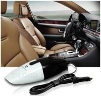 Handheld Powerful Auto Mini Dry Vacuums 12v 75w Black and white