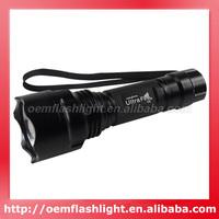 Newest UltraFire C2 Cree XM-L2 U2 LED 5-Mode 1200 Lumens Flashlight (1 x 18650)