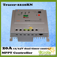 EP Solar Tracer MPPT Solar Charge Controller 12/24v with dual timer control Tracer2210RN 20A Ultisolar Wholesale