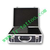 Tool box black aluminum alloy box tattoo machine set specialty tool box