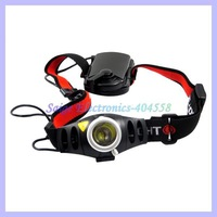 500 High Lumen Headlamp For Bicycle Riding Camping Zoomable CREE Q5 LED Headlight
