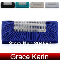 2013 Hot Sale Free Shipping GK Korean Women Girls Fashion Spikes Studs Knuckle Clutch Bag Evening Bag Shoulder Bag Evening GZ180