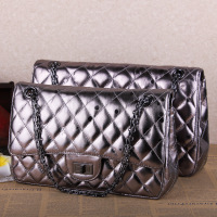 2014 new first layer of imported chain gun color Quilted lambskin leather handbag shoulder bag handbag free shipping