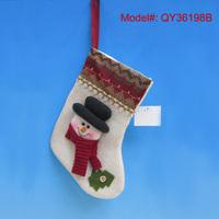 "9"" Christmas Socks Santa Christmas Stockings with Snowman Puppet Christmas Gifts Stockings Xmas Decorations Ornaments"
